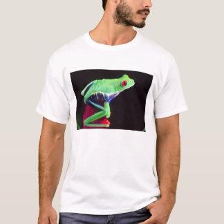 Red Eye Treefrog auf einem Bromeliad, Agalychinis T-Shirt