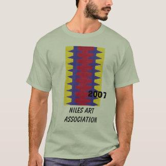 RedBlueYelo, Niles Kunst-Vereinigung, 2007 T-Shirt