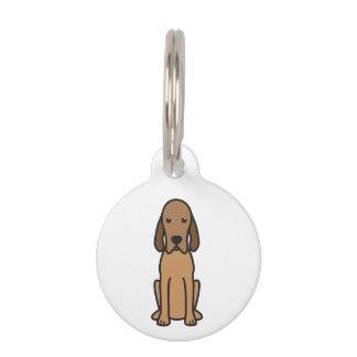 Redbone Coonhound-HundeCartoon Tiermarken