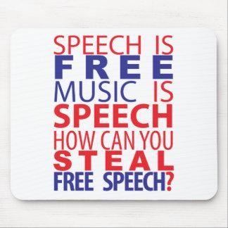 Rede ist freies Mousepad