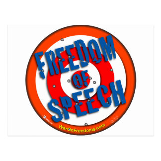 Redefreiheit Postkarte