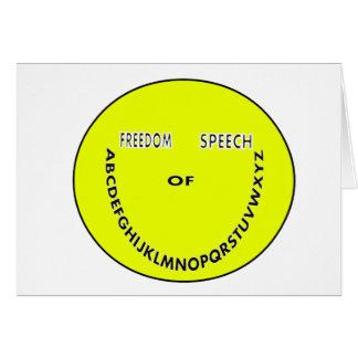 Redefreiheit Smiley Karte