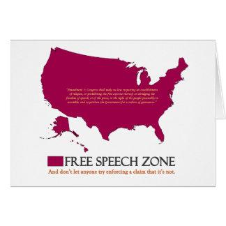 Redefreiheit-Zone Karte