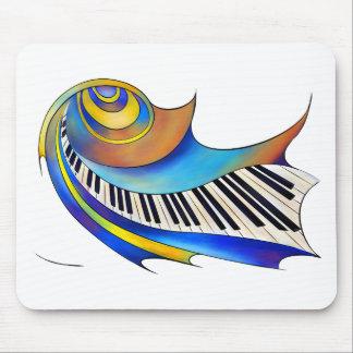 Redemessia - gewundenes Klavier Mauspads