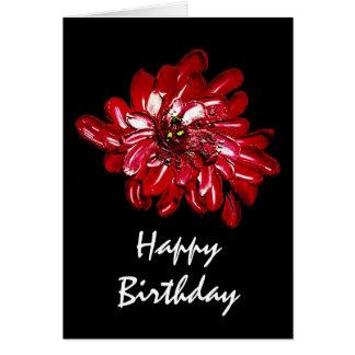redflower, alles Gute zum Geburtstag Karte