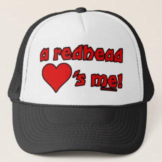 Redhead-Lieben ich Truckerkappe