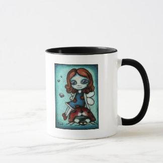 Redhead Lucy - Marienkäferfee Tasse