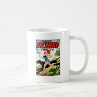 Redhead und ihr Panther Kaffeetasse
