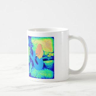 redheaded Meerjungfrauentwurf Kaffeetasse