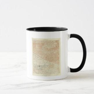 Redlands Viereck, das San- Andreasriß zeigt Tasse