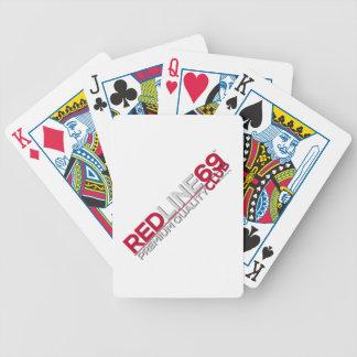 redline69club Bicycle® Poker-Spielkarten Bicycle Spielkarten