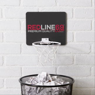 redline69club MiniBasketballkorb Mini Basketball Netz
