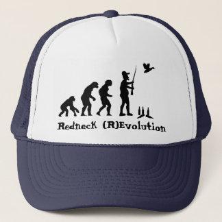 Redneck-Evolution oder Revolution Truckerkappe