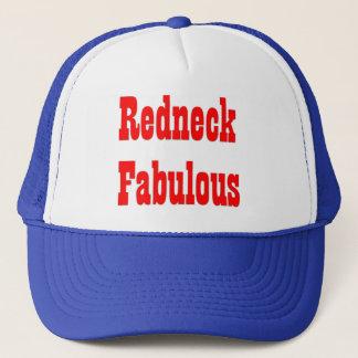 Redneck-fabelhafter Hut (blau) Truckerkappe