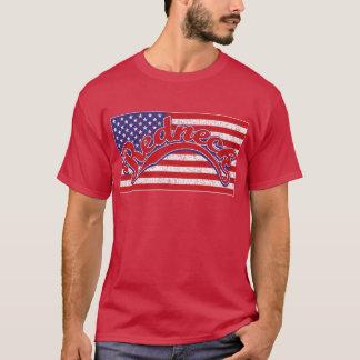 Redneck und Flagge T-Shirt