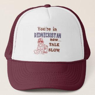 Redneckistan Fernlastfahrer-Hut Truckerkappe