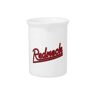 Redneckneonlicht Getränke Pitcher