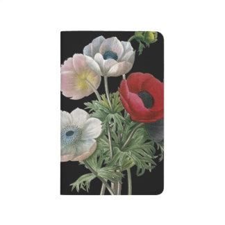 Redoute: Anemone, 1833 Taschennotizbuch