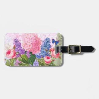 Redoute Blumen-Gepäck-Umbau Gepäckanhänger