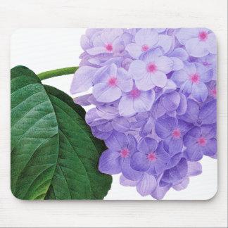 Redoute lila Hydrangea Mousepad