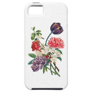 Redoute Tulpen und Pfingstrosen iPhone 5 Case