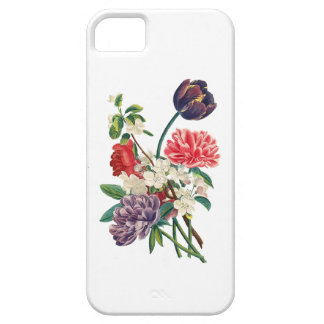 Redoute Tulpen und Pfingstrosen iPhone 5 Cover