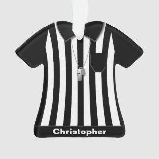 Referent-schwarze Hülsen-Uniform personalisiert Ornament