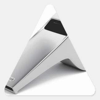Referentpfeife Dreieckiger Aufkleber