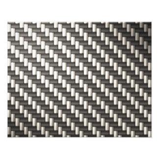 Reflektierende Kohlenstoff-Faser gemasert Photographie