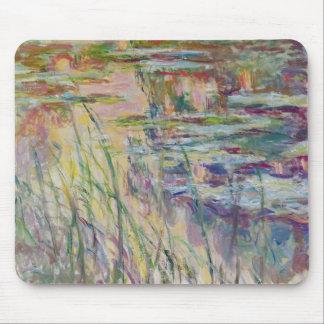 Reflexionen Claude Monets | auf dem Wasser, 1917 Mauspad