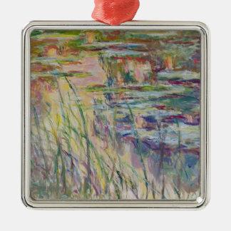Reflexionen Claude Monets   auf dem Wasser, 1917 Silbernes Ornament