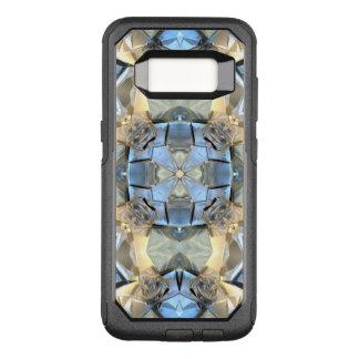Reflexionen des Blaus und des Goldes OtterBox Commuter Samsung Galaxy S8 Hülle