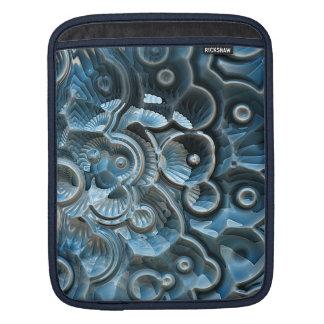 Reflexionen eines Fraktal-Fossils Sleeve Für iPads