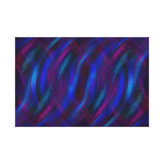 Reflexionen im Blau Leinwanddruck