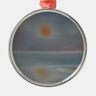 Reflexionen Silbernes Ornament