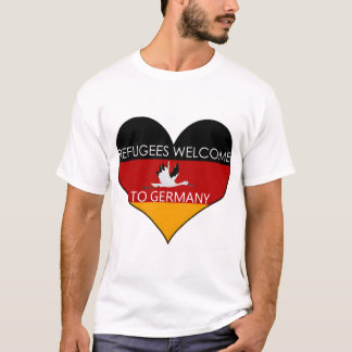 refugees welcome to germany T-Shirt
