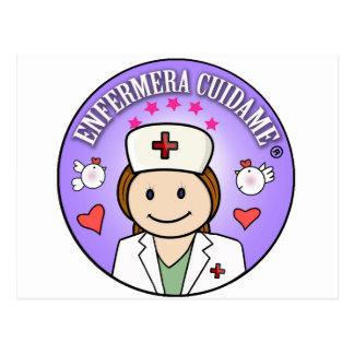 Regalitos für Krankenschwestern auf~passen Postkarte