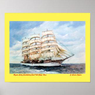 Regatta Cutty Sark/Cutty Sark Tall Ships' Race Poster