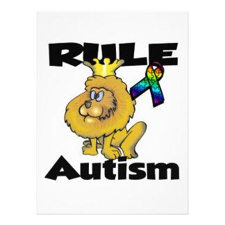Regel-Autismus Individuelle Einladungskarte