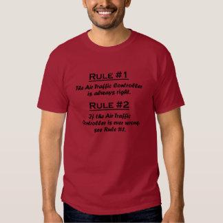 Regel-Fluglotse Tshirt