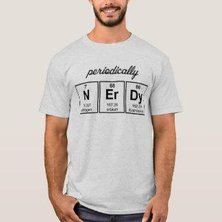 Regelmäßig Nerdy Element-Symbole T-Shirt