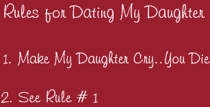 Regeln fГјr die Dating-Tochter