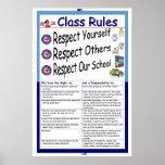Regeln (Respekt) Plakat