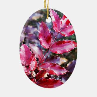 Regen auf Broschüren Keramik Ornament