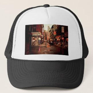 Regen - Chinatown - New York City Truckerkappe