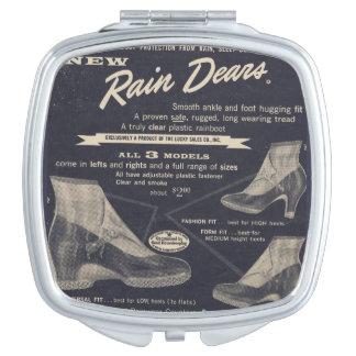 Regen Dears, nicht Rene Taschenspiegel