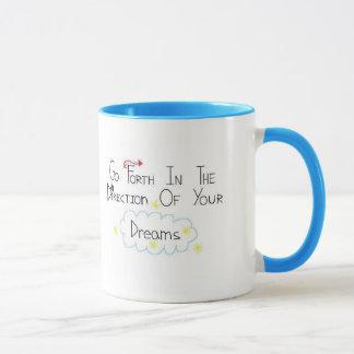 Regen Sie Traum-Tasse an Tasse