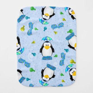 Regen-Stiefel-Pinguin Spucktuch
