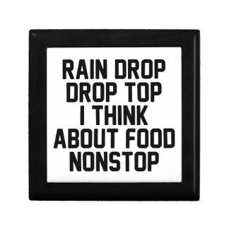 Regen-Tropfen-Tropfen-Spitze Schmuckschachtel