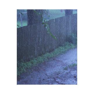 Regen und Schlamm Leinwanddruck